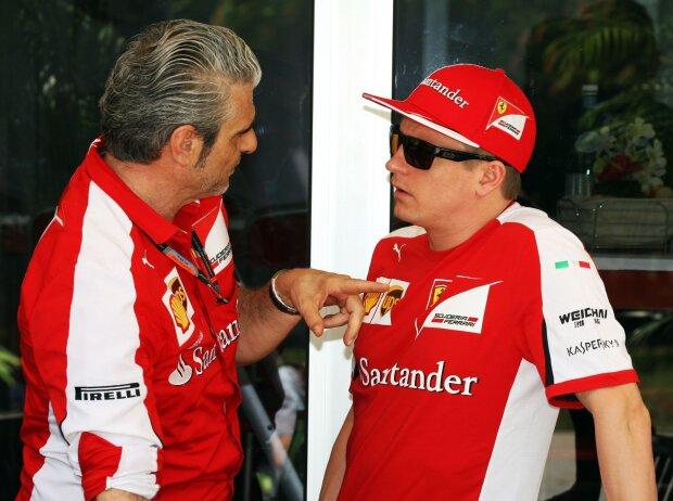 Maurizio Arrivabene, Kimi Räikkönen