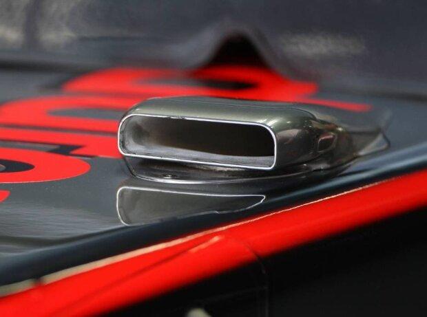 F-Schacht bei McLaren 2010