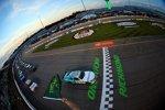 Start zum Xfinity-Rennen mit Lokalmatador Denny Hamlin (Gibbs) an der Spitze