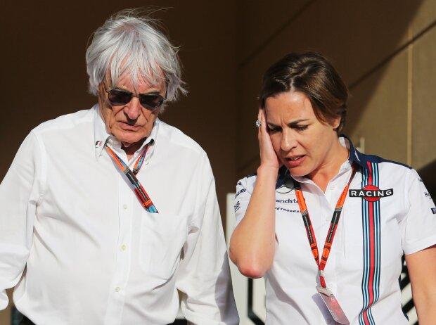 Bernie Ecclestone, Claire Williams