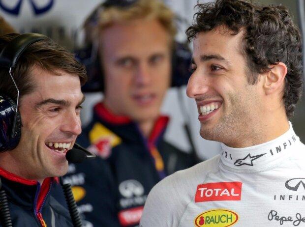 Daniel Ricciardo, Chris Gent