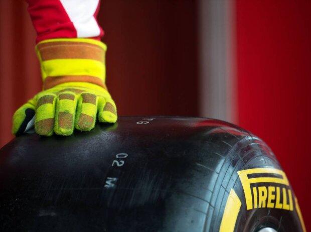 Weicher Pirelli-Reifen