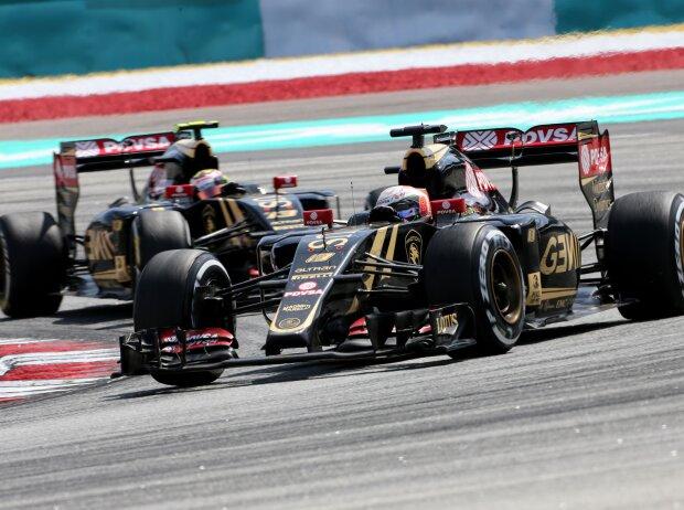 Romain Grosjean, Pastor Maldonado