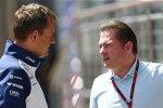 Williams-Sportchef Steve Nielsen und Jos Verstappen