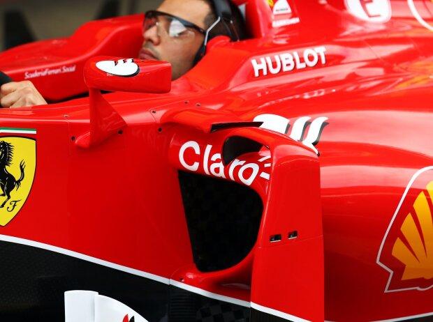 Seitenkasten, Ferrari, Barcelona