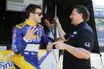Marco Andretti und Michael Andretti
