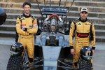 Romain Grosjean (Lotus) und Pastor Maldonado (Lotus)
