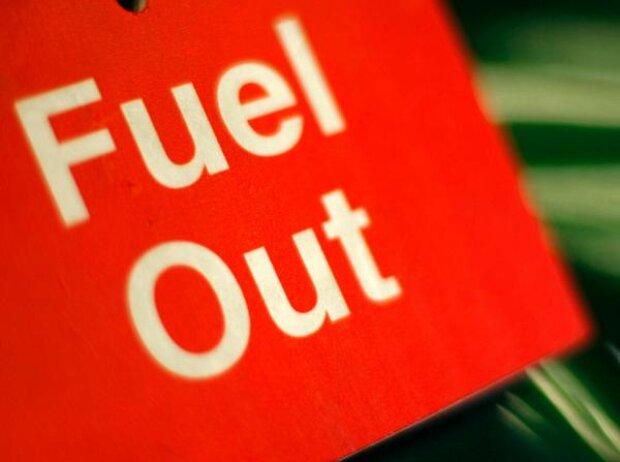 Benzin, Sprit, Schild