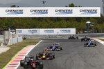 Fernando Alonso (McLaren), Daniil Kwjat (Red Bull), Felipe Nasr (Sauber) und Marcus Ericsson (Sauber)