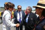 Roberto Merhi (Manor-Marussia) und Jean Todt