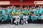 Nico Rosberg (Mercedes) und Lewis Hamilton (Mercedes)