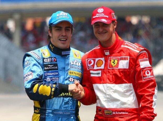 Fernando Alonso, Michael Schumacher