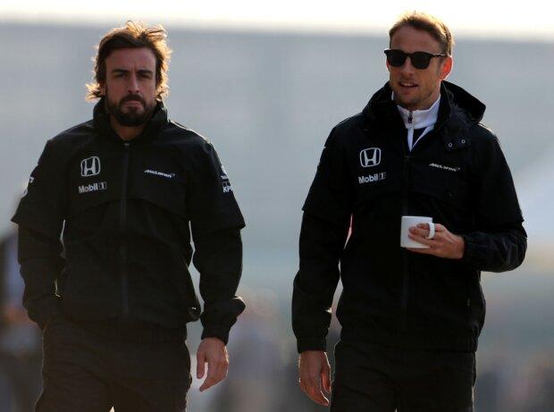 Fernando Alonso, Jenson Button