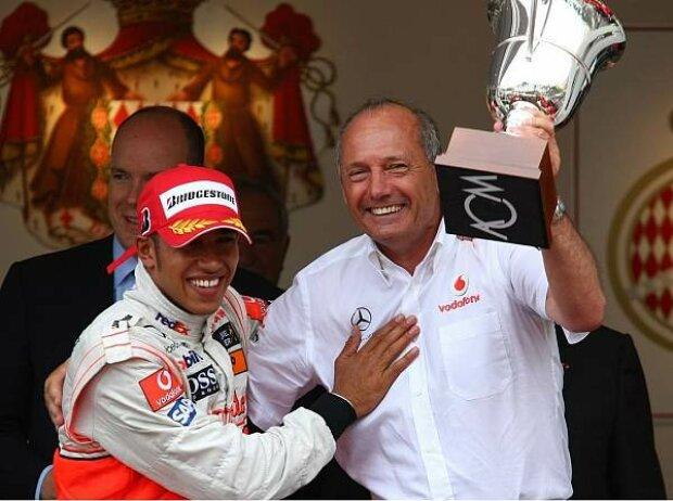 Lewis Hamilton und Ron Dennis