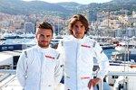 Will Stevens (Manor-Marussia) und Roberto Merhi (Manor-Marussia)