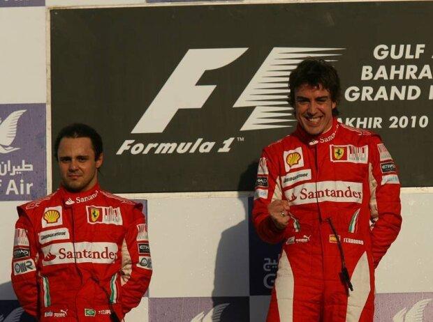 Felipe Massa, Fernando Alonso, Lewis Hamilton