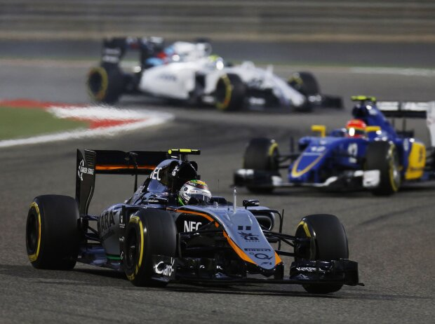 Sergio Perez, Felipe Nasr, Felipe Massa