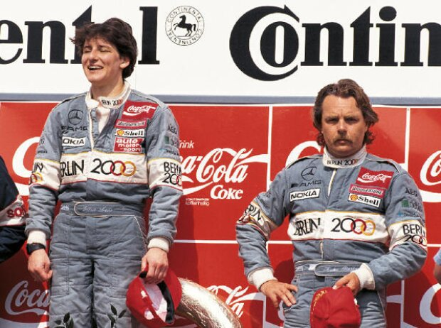 Ellen Lohr und Keke Rosberg, DTM 1992