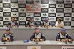 Julien Ingrassia, Miikka Anttila (Volkswagen) und Jari-Matti Latvala (Volkswagen)