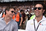 Jeff Gordon und Dario Franchitti