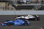 Tony Kanaan (Ganassi) und Will Power (Penske)