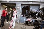 Miguel Molina (Abt-Audi-Sportsline) beim Werbespot-Dreh