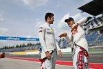 Miguel Molina (Abt-Audi-Sportsline) und Mattias Ekström (Abt-Sportsline-Audi)