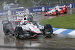 Dreimal Penske: Will Power, Helio Castroneves und Juan Pablo Montoya