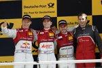 Mattias Ekström (Abt-Audi-Sportsline), Jamie Green (Rosberg-Audi) und Miguel Molina (Abt-Audi-Sportsline)