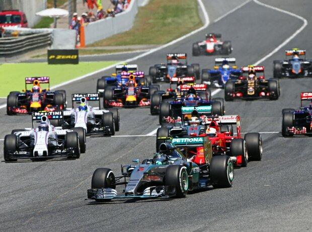 Nico Rosberg Start