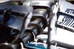 Frontflügel des Mercedes F1 W06 Hybrid