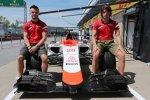 Roberto Merhi (Manor-Marussia) und Will Stevens (Manor-Marussia)