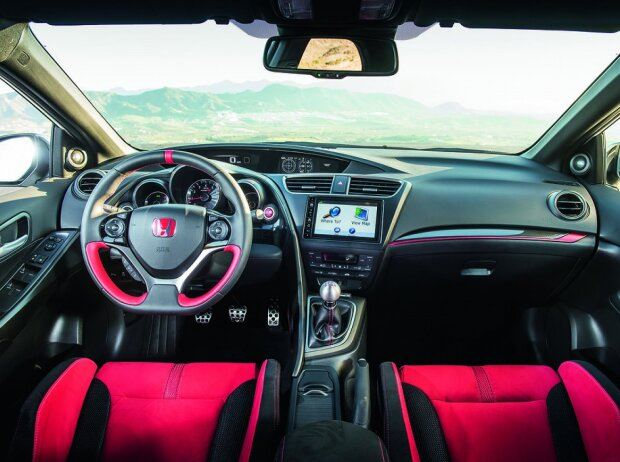 Honda Civic Type R Cockpit