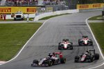 Max Verstappen (Toro Rosso), Jenson Button (McLaren), Roberto Merhi (Manor-Marussia) und Will Stevens (Manor-Marussia)