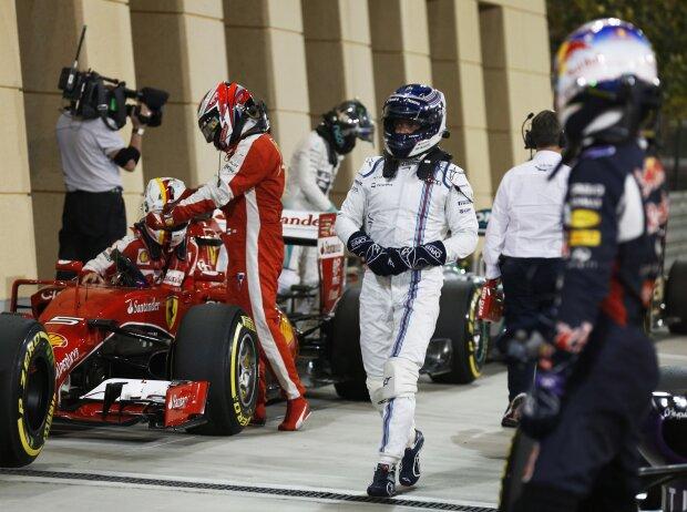 Kimi Räikkönen, Valtteri Bottas, Daniel Ricciardo