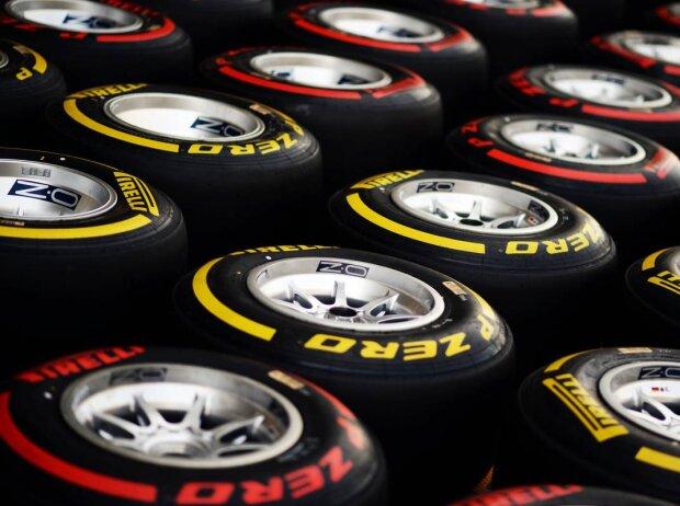 Pirelli Soft Supersoft 2014 rot gelb weich superweich