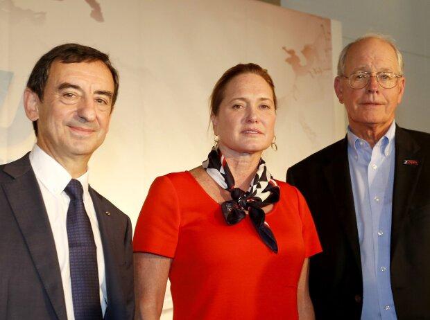 Pierre Fillon, Lesa France Kennedy, Jim France