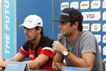 Lucas di Grassi (Abt) und Nelson Piquet Jun. (China)