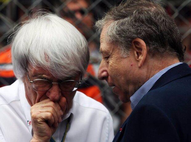 Bernie Ecclestone, Jean Todt