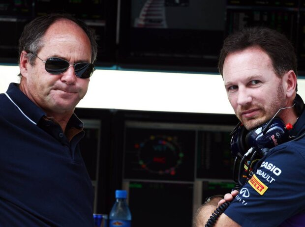 Gerhard Berger, Christian Horner