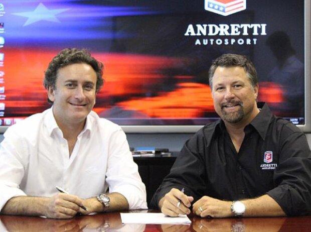 Alejandro Agag, Michael Andretti