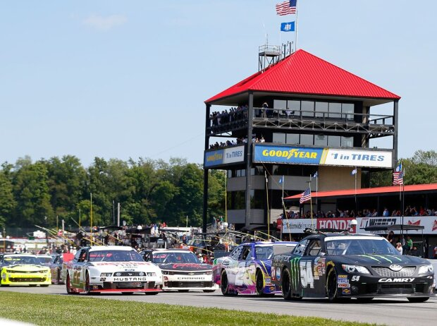 Nationwide-Rennen in Mid-Ohio