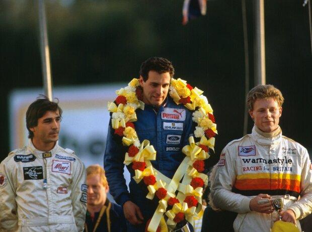 Roland Ratzenberger siegt beim Formel-Ford-Festival 1986