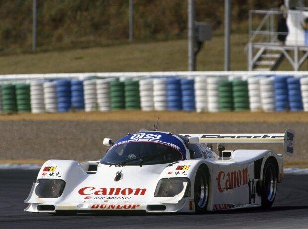 Roland Ratzenberger im Toyota-Sportwagen in Autopolis 1991