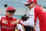 Sebastian Vettel (Ferrari) und Kimi Räikkönen (Ferrari)