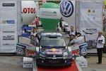 Jari-Matti Latvala und Miikka Anttila (Volkswagen)