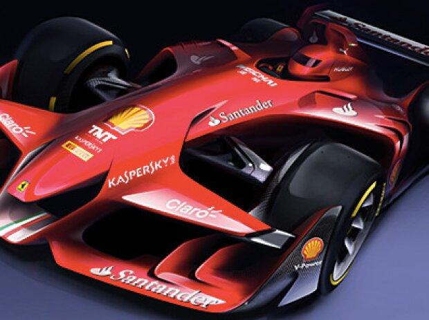 Konzeptstudie von Ferrari