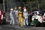 Jaap van Lagen (Lada) und Tiago Monteiro (Honda)