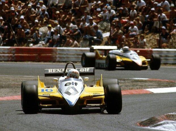 Rene Arnoux, Alain Prost
