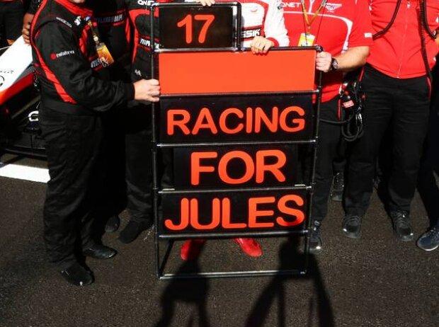 Max Chilton, Jules Bianchi